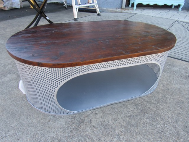 Oval Coffee Table Nadeau Houston