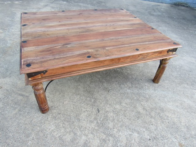 Medium Traditional Indian Coffee Table Nadeau Houston