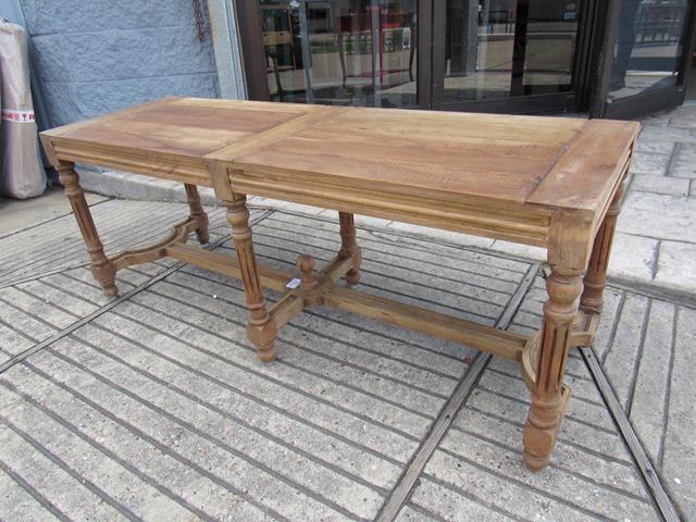 Wood Seat Bench Nadeau Houston