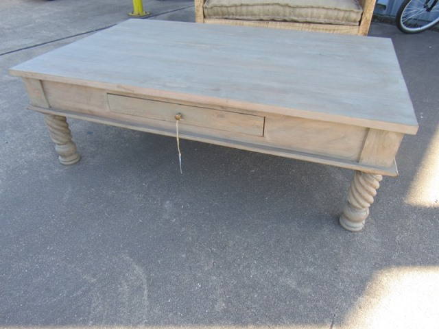 Twisted Leg Coffee Table Nadeau Houston