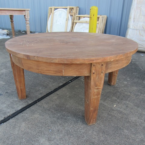 Round Coffee Table Nadeau Houston