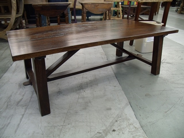 Rustic Coffee Table Nadeau Houston