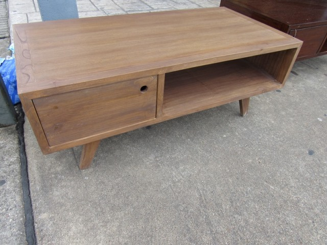 Coffee Table With Two Drawers Nadeau Houston