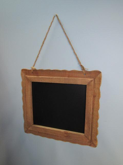 Wood Framed Blackboard