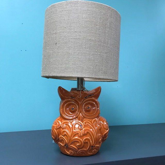Owl table lamp nadeau minneapolis owl table lamp aloadofball Choice Image