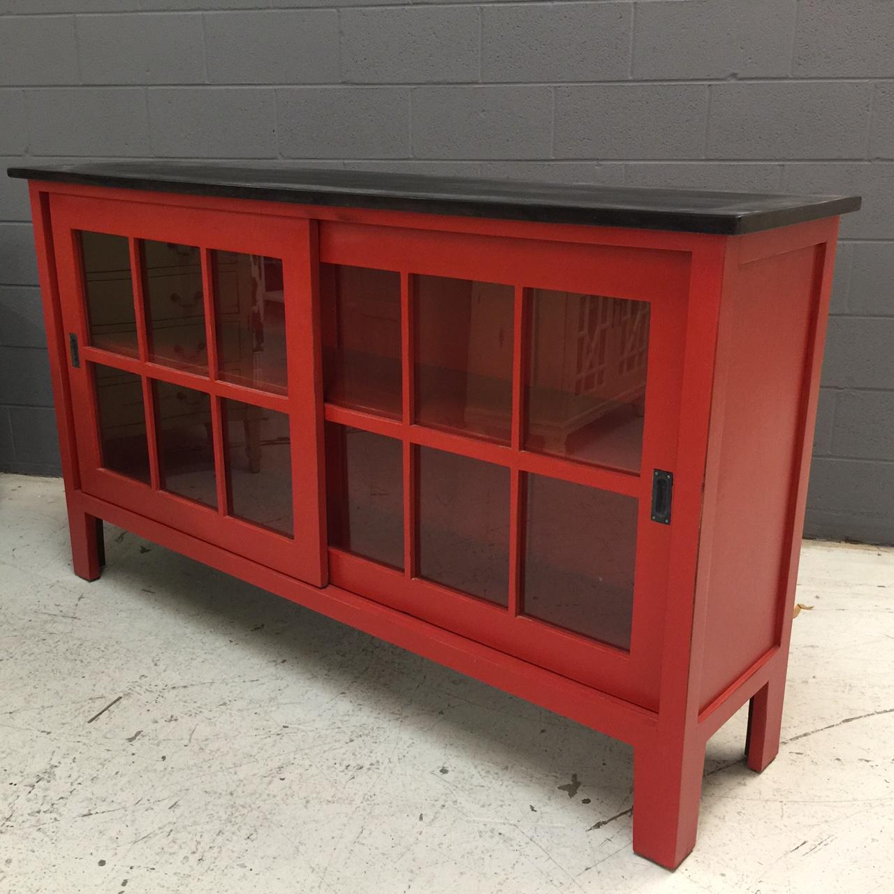 Sliding Glass Doors Buffet ~ Sideboard sliding door nadeau nashville