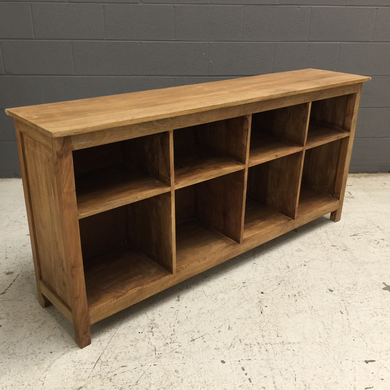 Low Bookcase 2 on nadeau furniture console