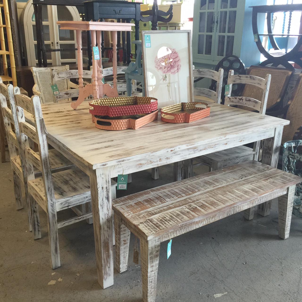 Nadeau Furniture Nashville #3 - Square Dining Table