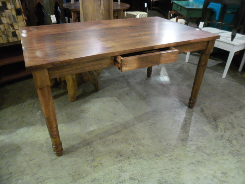 Dining table with single drawer nadeau nashville Dining table with drawer
