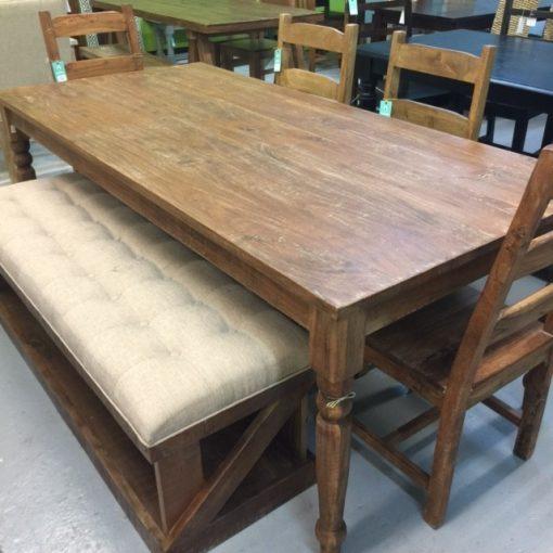 Farm Dining Table 2 on Nadeau Furniture Console