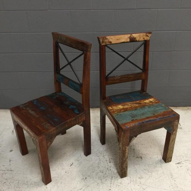 Reclaimed Wood Chair Nadeau Nashville
