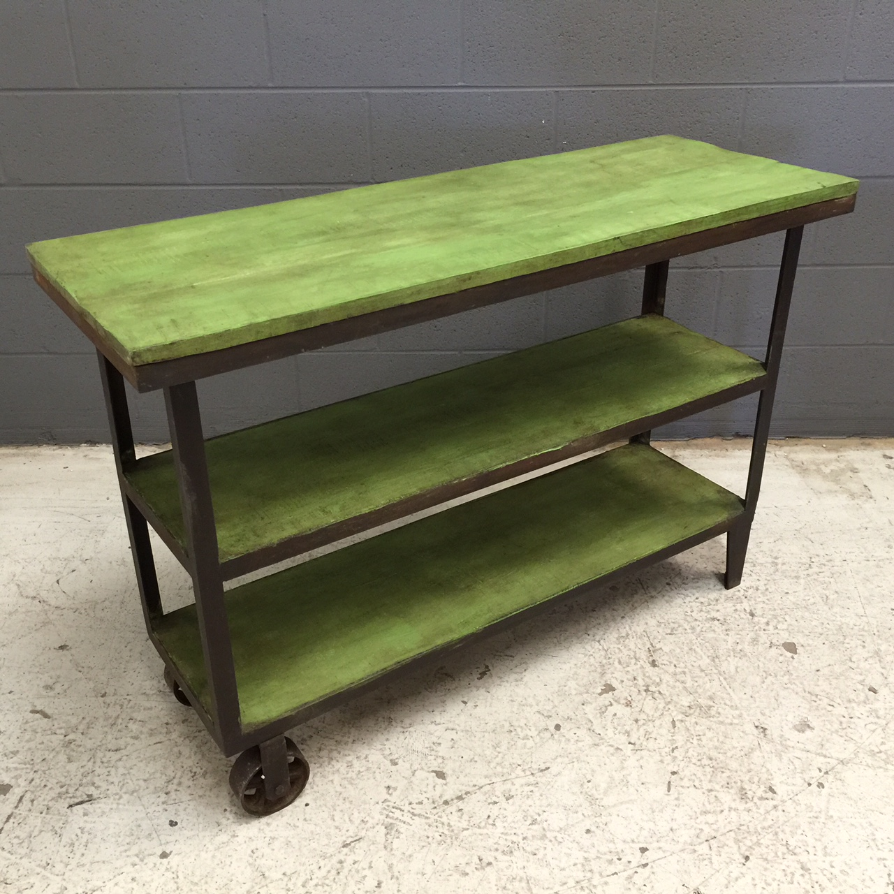 Iron And Wood Console Table 7 on Nadeau Furniture Console