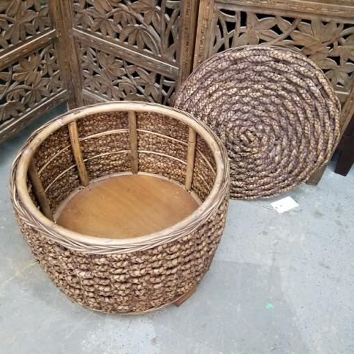 water hyacinth Round Basket