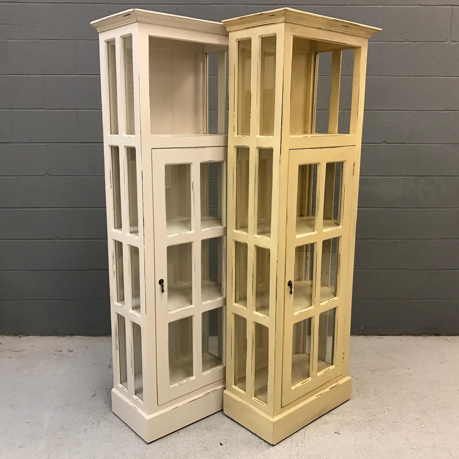 Narrow Cabinet with Glass Door - Nadeau Nashville