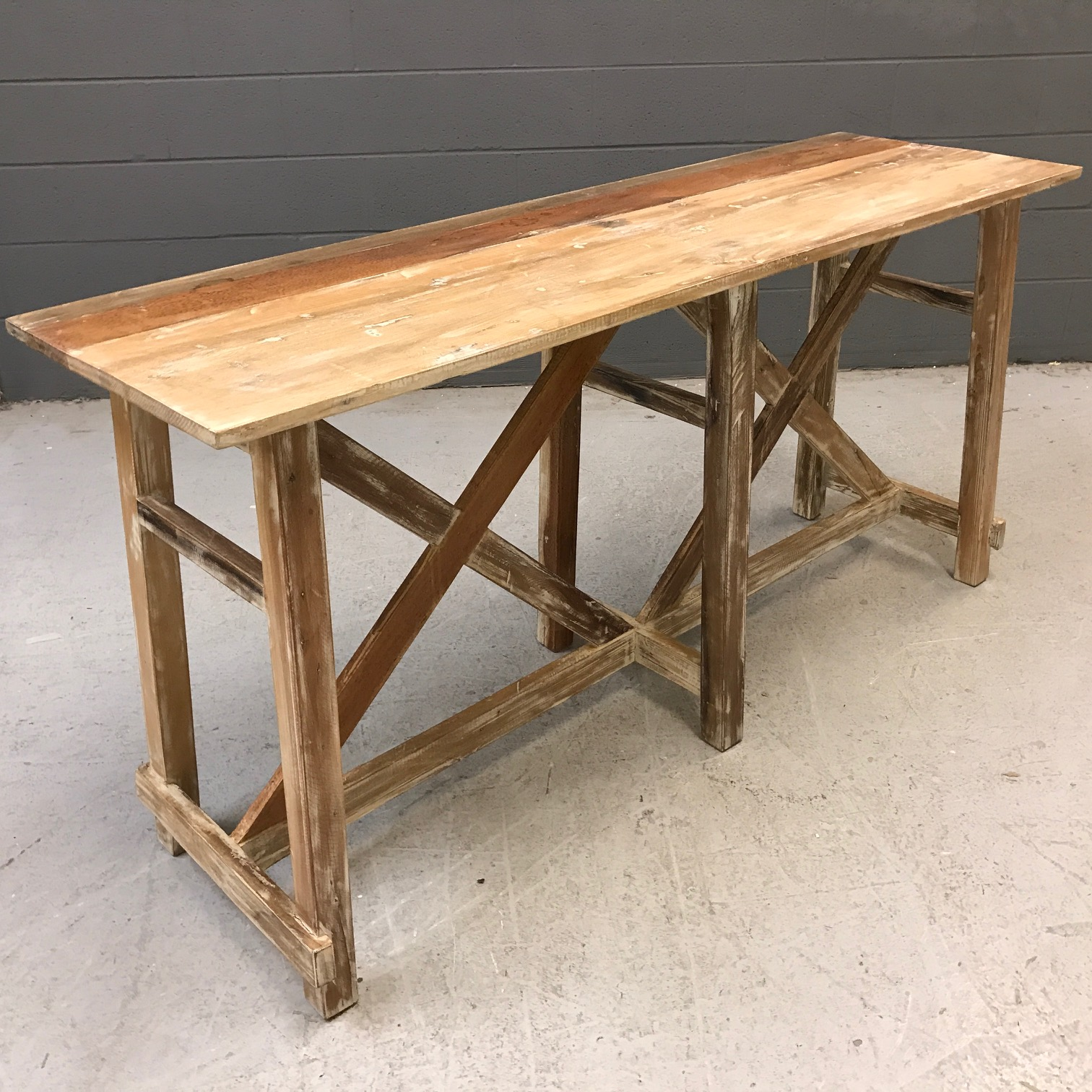 Ordinaire Reclaimed Wood Console Table