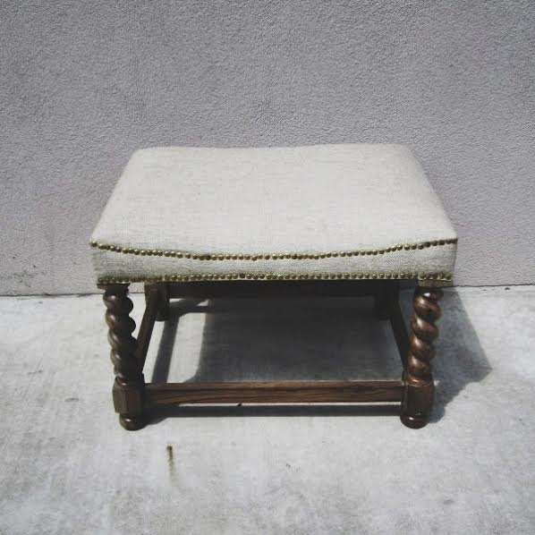 Small Bench With Upholstered Seat Nadeau Birmingham