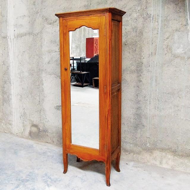 Single Door Mirrored Cabinet Nadeau Birmingham