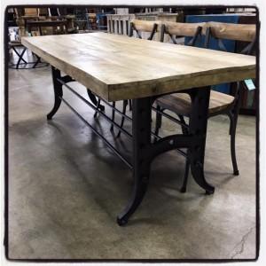 82u2033 Industrial Dining Table