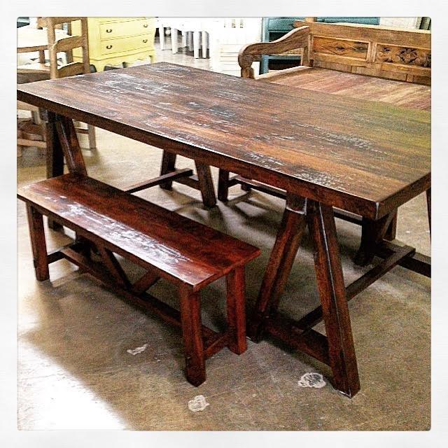 Rustic Farm Table Nadeau Austin - Farm table austin