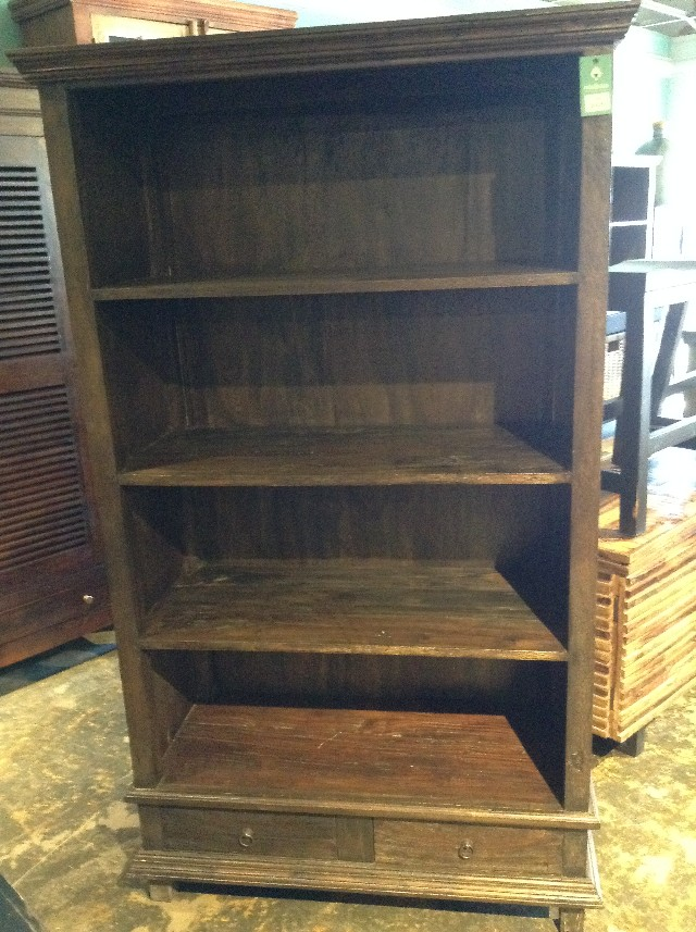 Two Drawer Bookcase Nadeau Austin