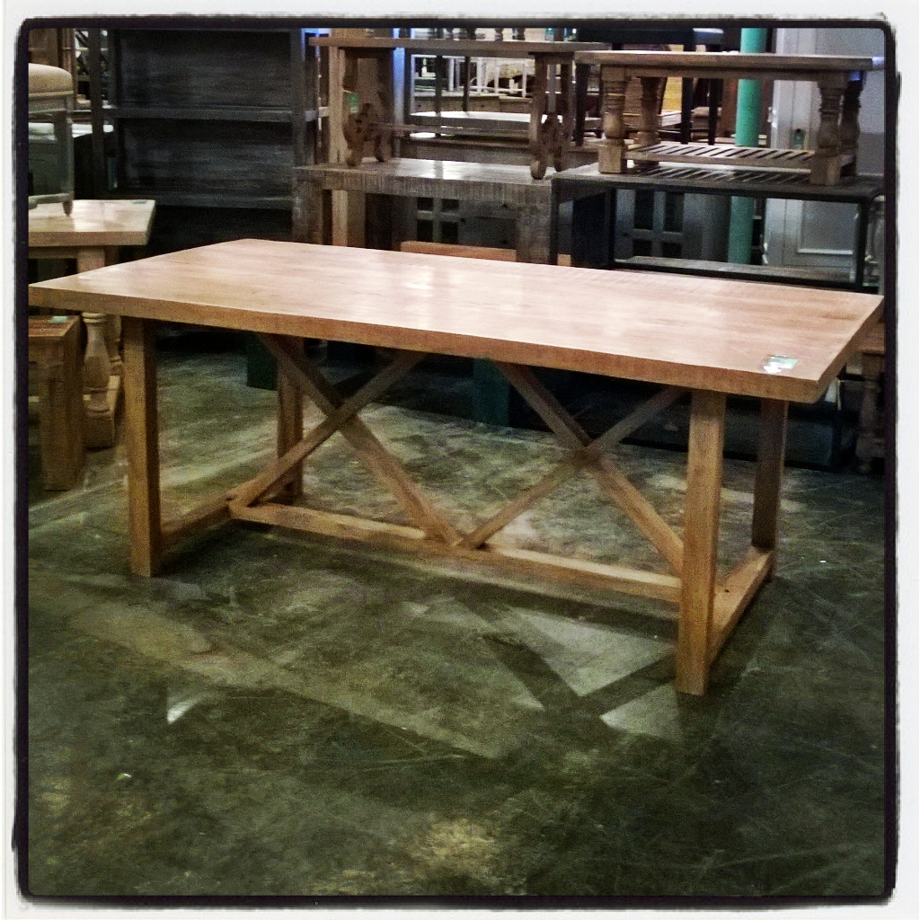 Trestle Dining Table Nadeau New Orleans