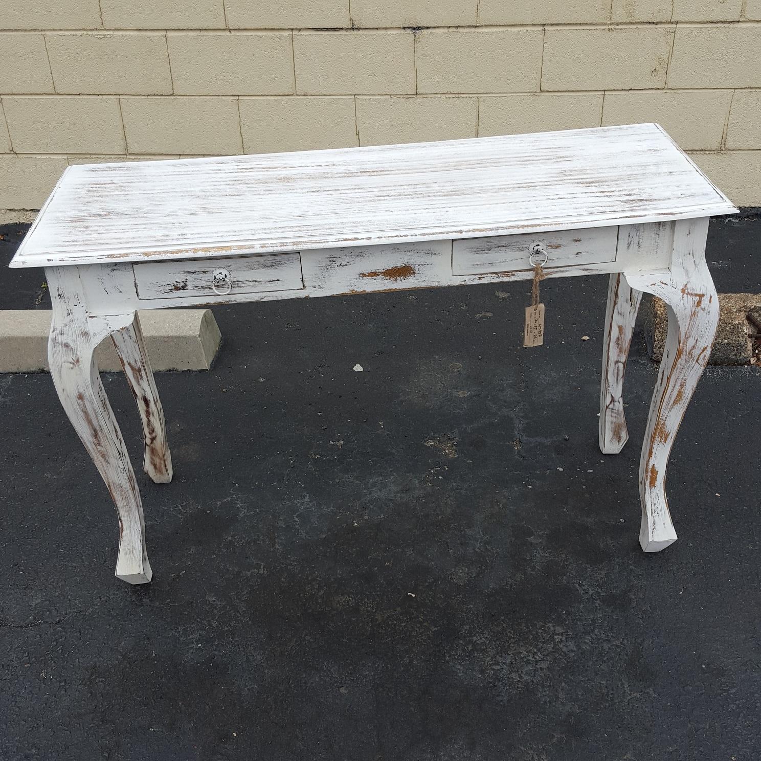 Cabriole Leg Console Table Nadeau Memphis