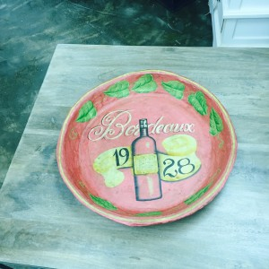 IS302 $15 Paper Mache Plate