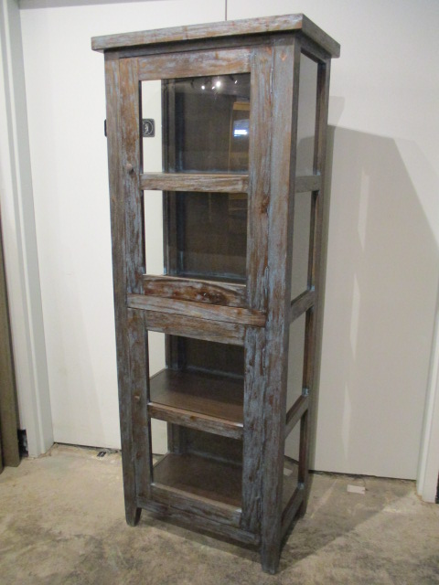 Cottage Single Glass Door Cabinet Nadeau Memphis