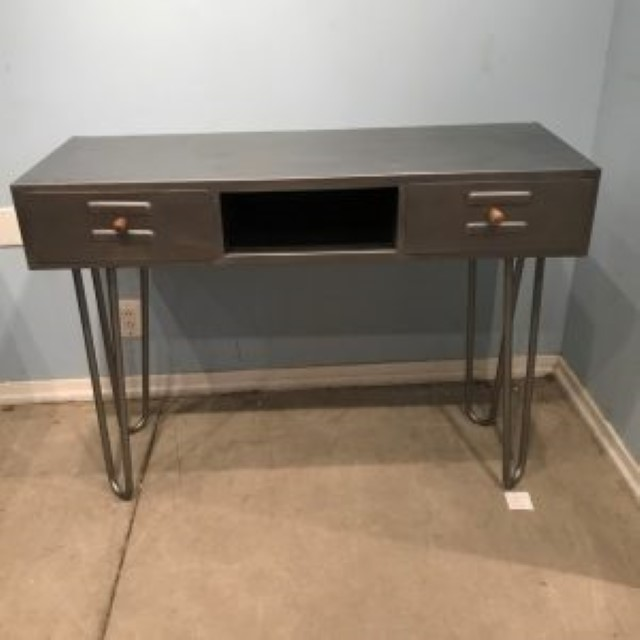Iron Mid Century Console Table - Nadeau Memphis