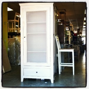 KA148 Cabinet mesh door 4 shelf 1 drawer $497