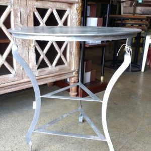 m050 iron side table (Custom)