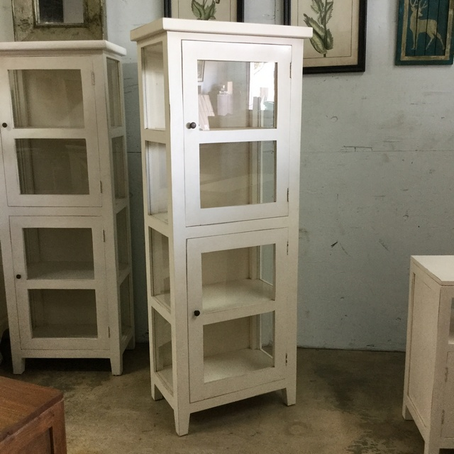 Cottage Single Glass Door Cabinet Nadeau Cincinnati