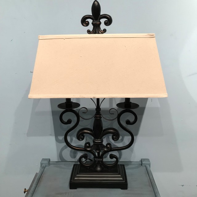 Fleur de lis table lamp nadeau cincinnati fleur de lis table lamp aloadofball Gallery