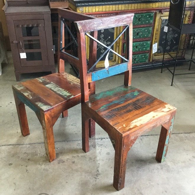 Reclaimed Wood Chair - Reclaimed Wood Chair - Nadeau Indianapolis