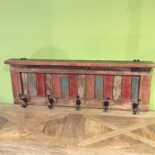 Reclaimed Wood Wall Hooks - Nadeau Indianapolis - Reclaimed Wood Indianapolis WB Designs