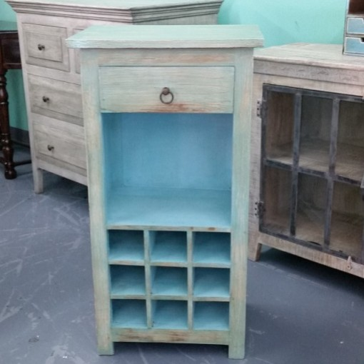 Wine Cabinet with Drawer