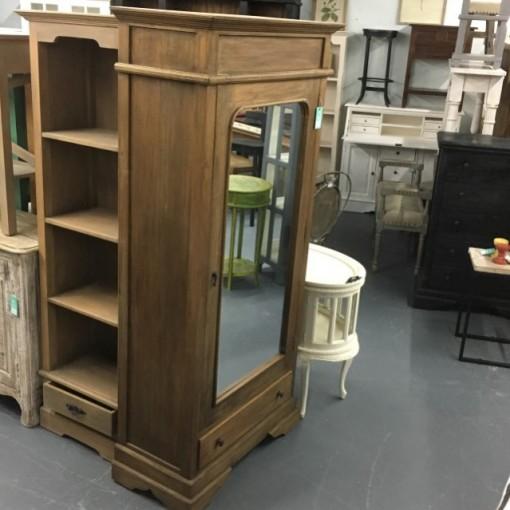 Wardrobe Cabinet with Mirror