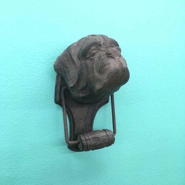 Dog Door Knocker Nadeau Tampa