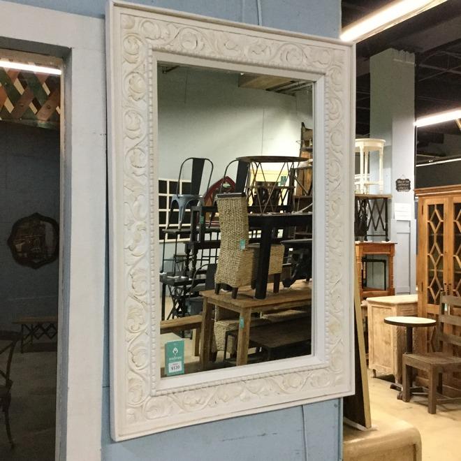 Mirror With Beading