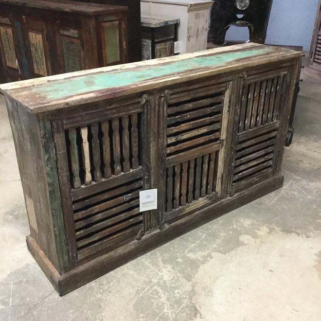 Reclaimed Wood Sideboard Nadeau Miami