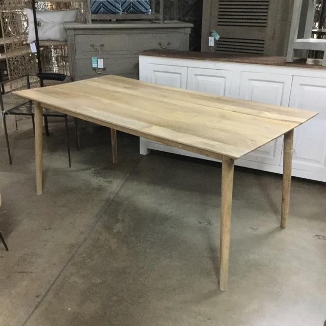midcentury dining table