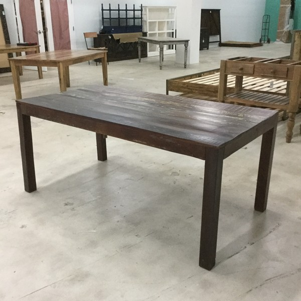 Reclaimed Wood Dining Table Nadeau Miami