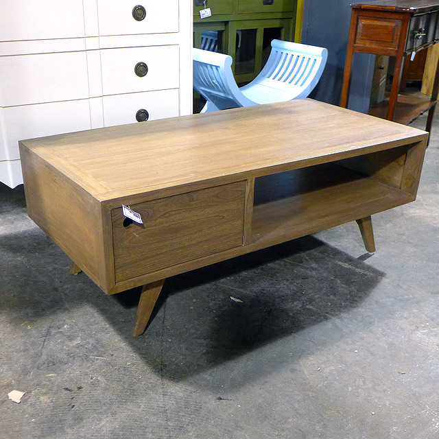 Coffee Table With Two Drawers Nadeau Chicago