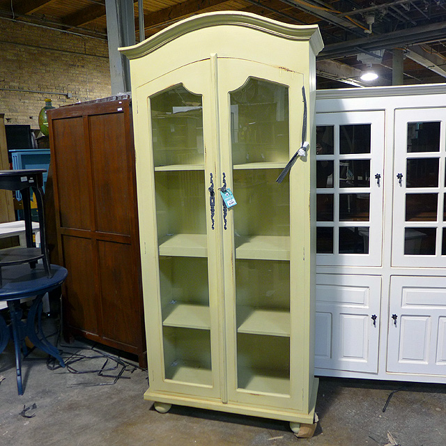 Arch Top Display Cabinet - Nadeau Chicago