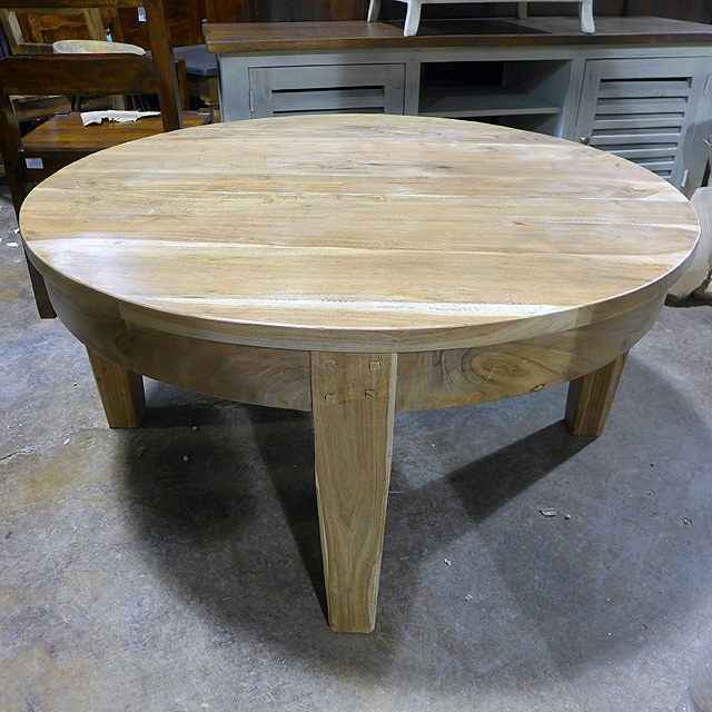Round Coffee Table Nadeau Chicago