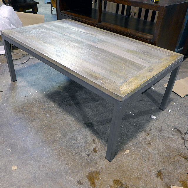 Iron Coffee Table Nadeau Chicago