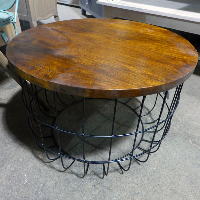 Wire Coffee Table Nadeau Chicago