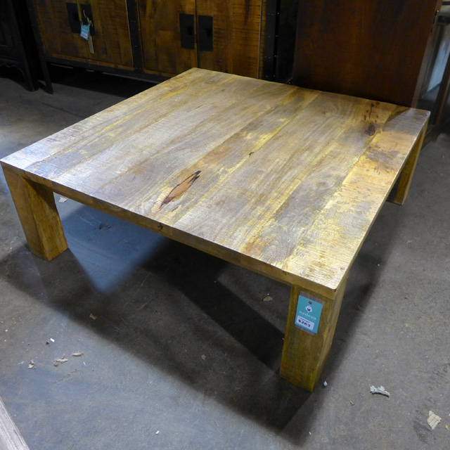 Square Coffee Table Nadeau Chicago