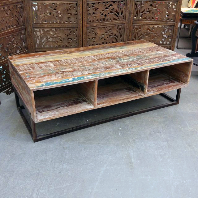 Coffee Table Reclaimed Wood Nadeau Chicago