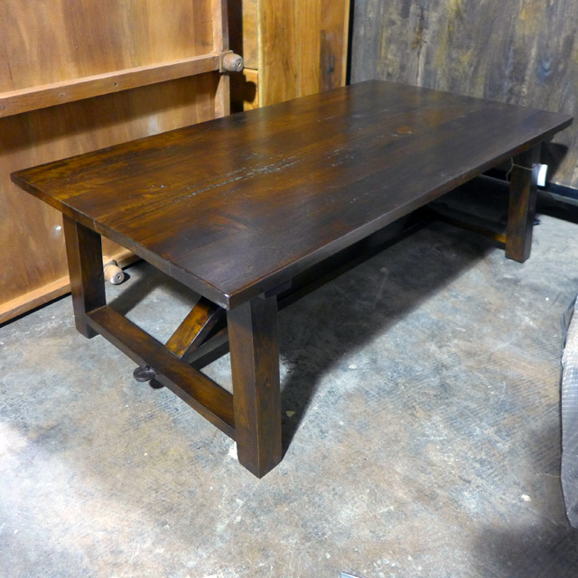 Rustic Coffee Table Nadeau Chicago